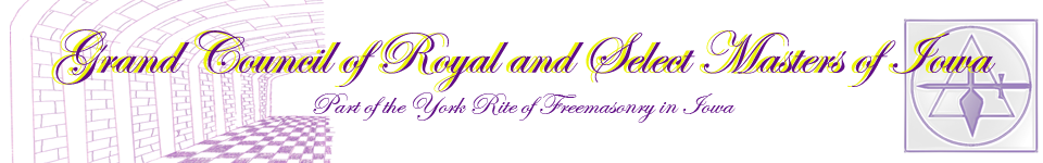 Grand Council of Royal and Select Master of Iowa